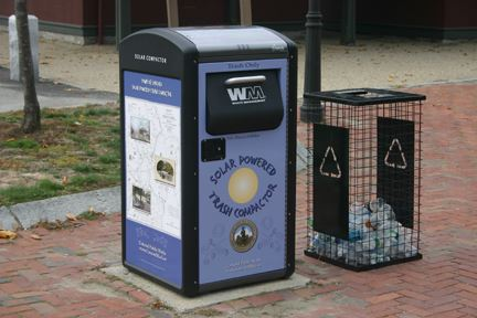 BigBelly Trash Compactors