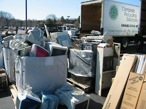 Large Pile of Recycable Items