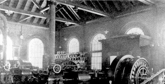 Concord Light Generation Plant circa 1921
